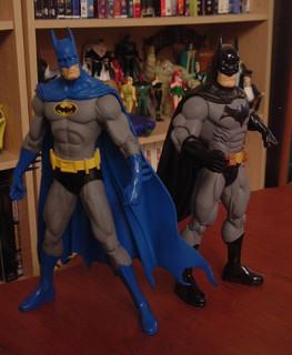 80s Batman vs 00s Batman