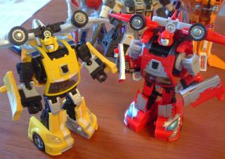 Bumblebee and Cliffjumper