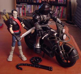 The Nightwatcher and his trusty sidekick Casey Jones.