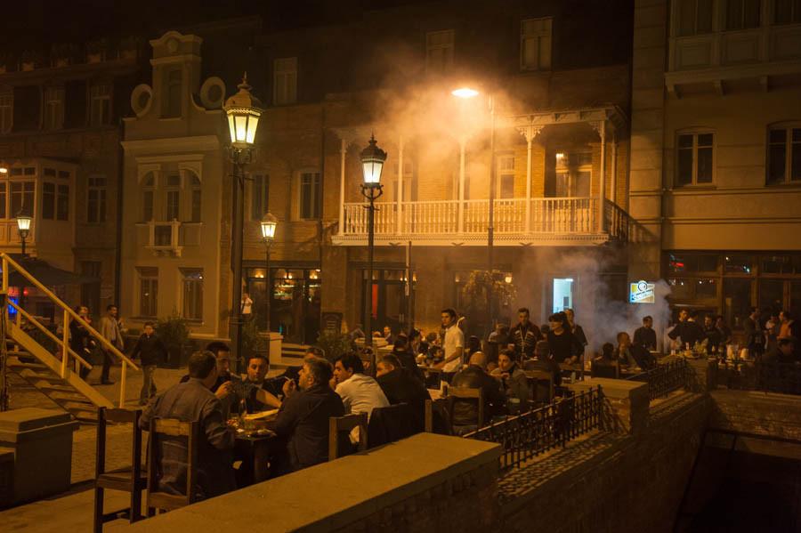 Вечерний Тбилиси. Фотограф: Константин Калишко.