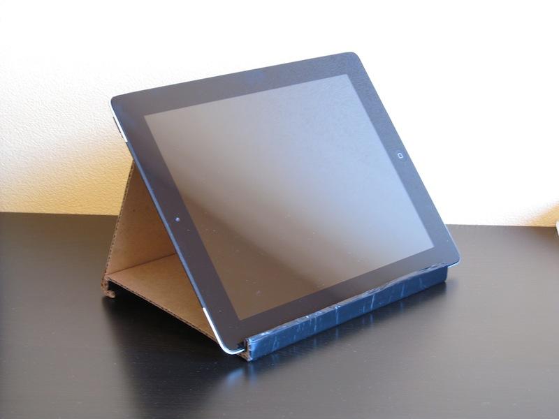 Как сделать подставка для планшета