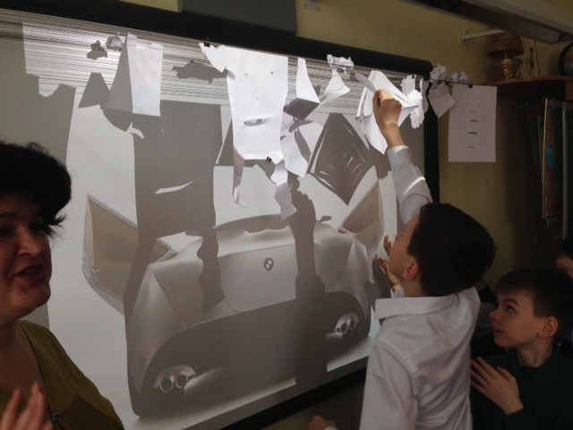 урок дизайна в школе, 4 класс