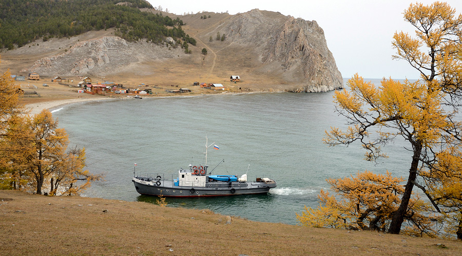 Сутки на Байкале.