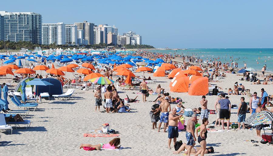 Пляжный сезон.