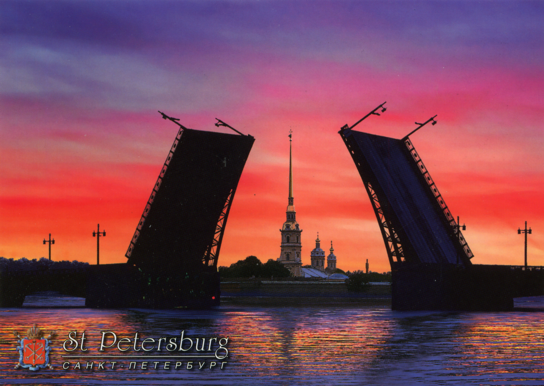 Открытки для фото санкт-петербург