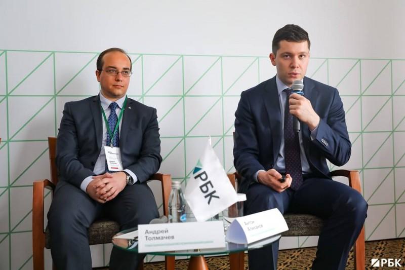 Андрей Толмачев и Антон Алиханов Фото: РБК