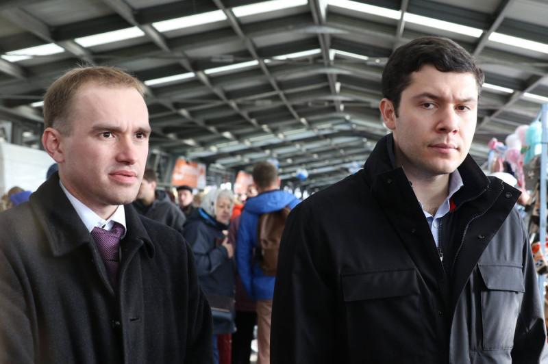 Дмитрий Лысков и Антон Алиханов Фото: Руград