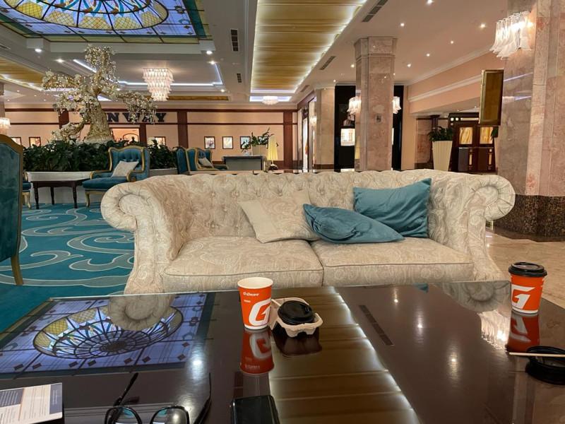 Кофе с заправки в вип-отеле