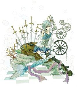 miki sayaka (oktavia von seckendorff) - magical-girl-mermaid