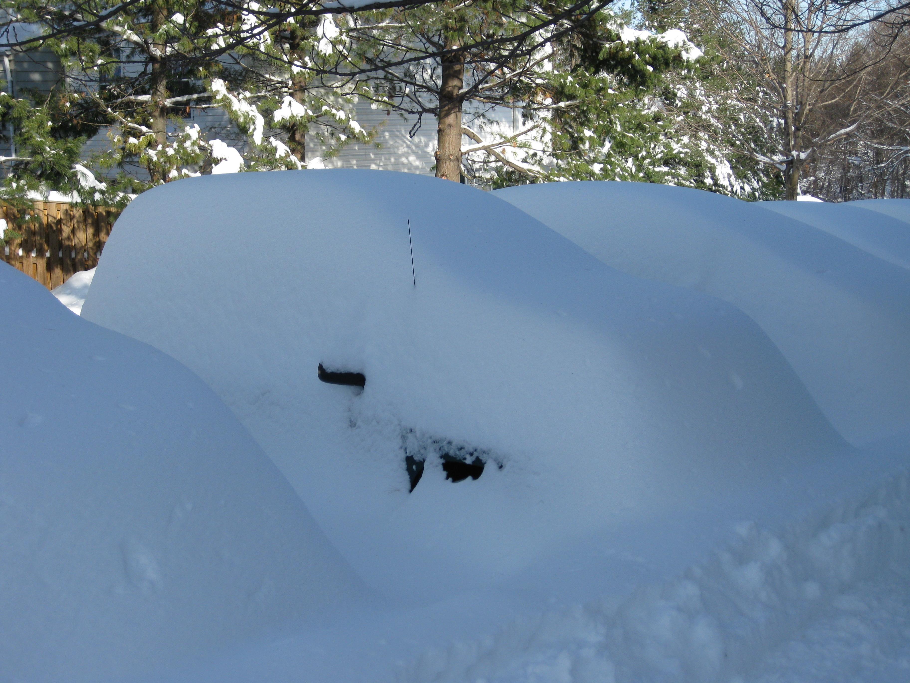 Зима на Вашингтонщине