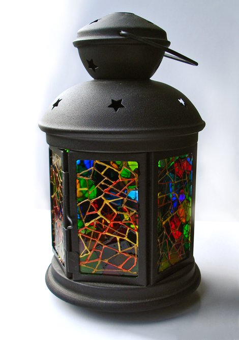 Правильно подобранный орнамент со смыслом, наполнит ваш работу энергией и силой, которая будет умножаться при каждом включении фонаря, согревая ваш дом любовью и радостью.