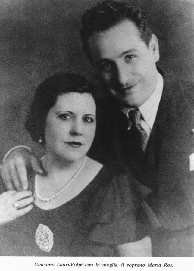 4_ЛВ с женой Марией Рос
