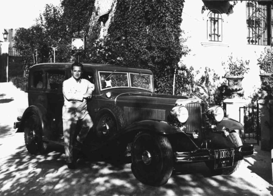 Лаури-Вольпи у автомобиля