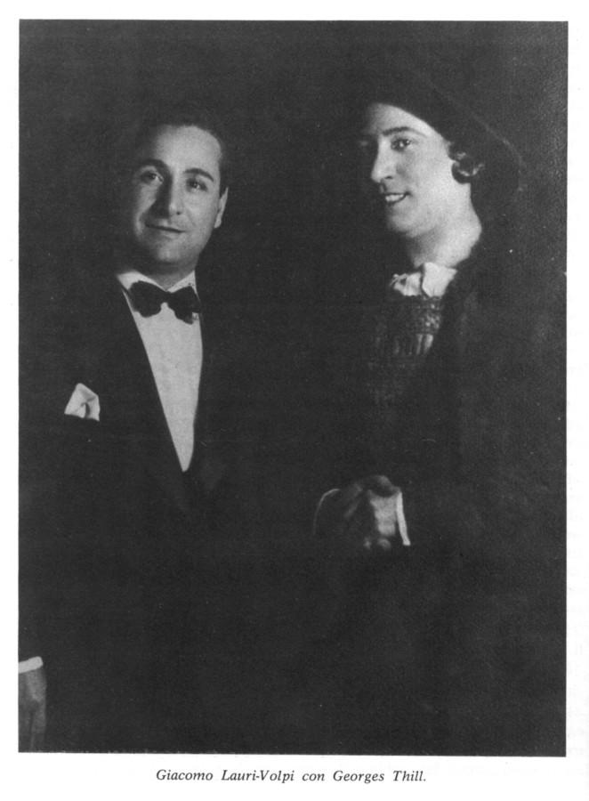 ЛВ и Жорж Тилль