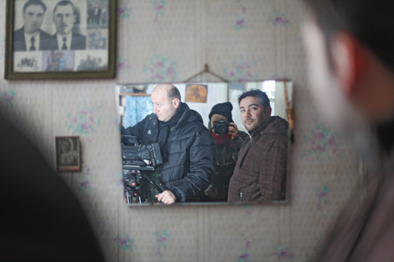 Dukhobor filming RSZD