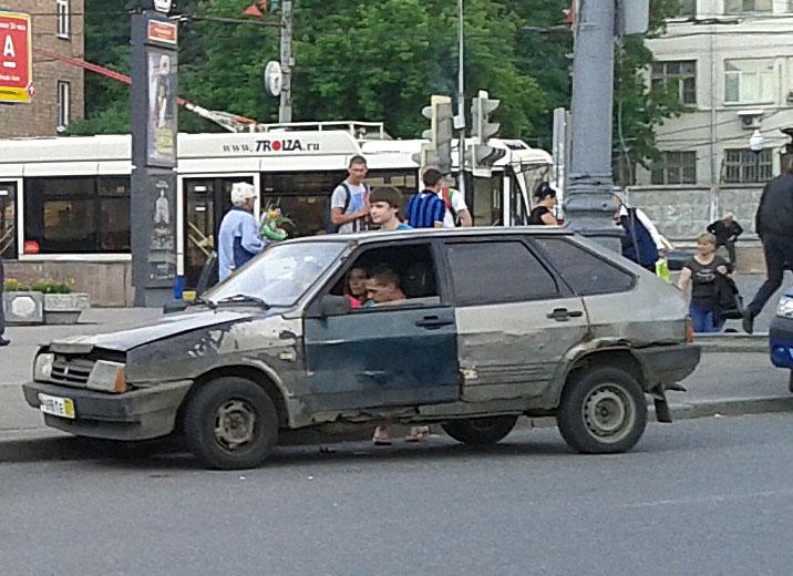 У какой машины кузов не гниет