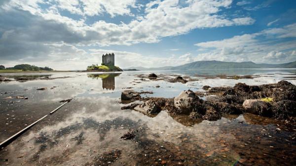 природа и архитектура Шотландии