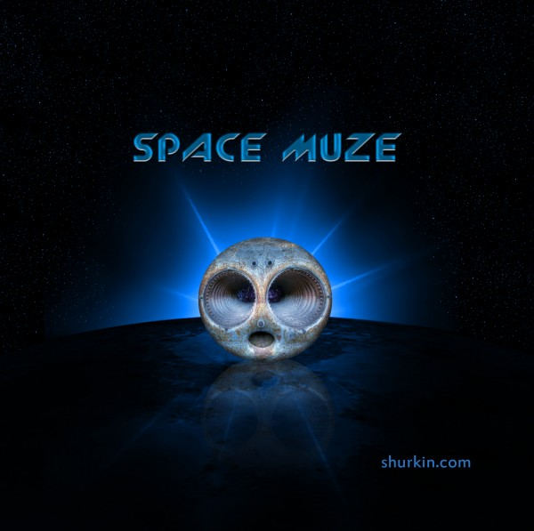 Space Muze (Space/Cosmic music) CD Cover 2012