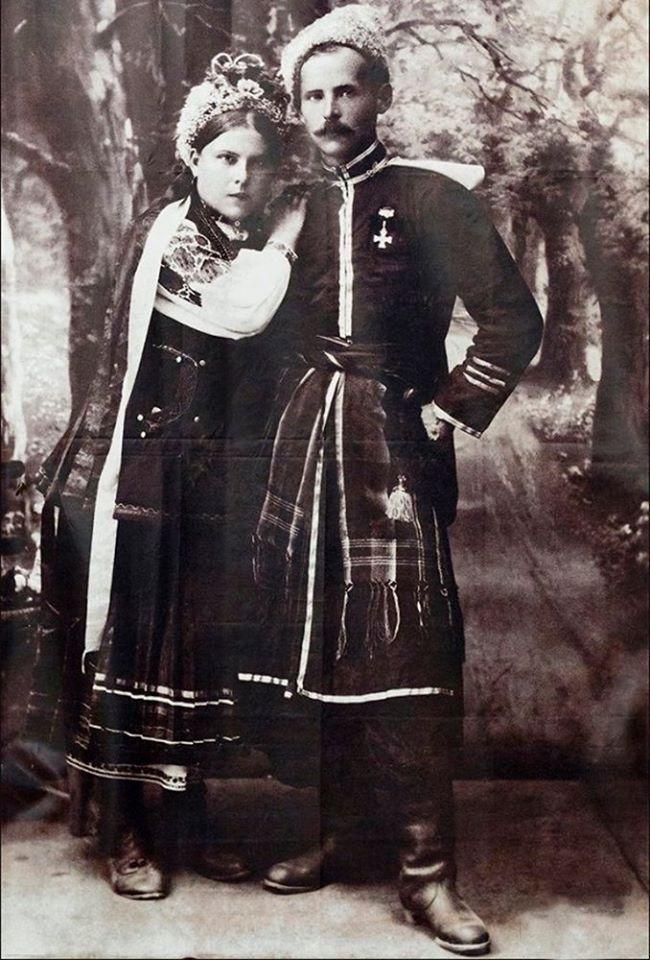 фото эпохи.1918. предположительно, сделано на Луганщине, боец УНР