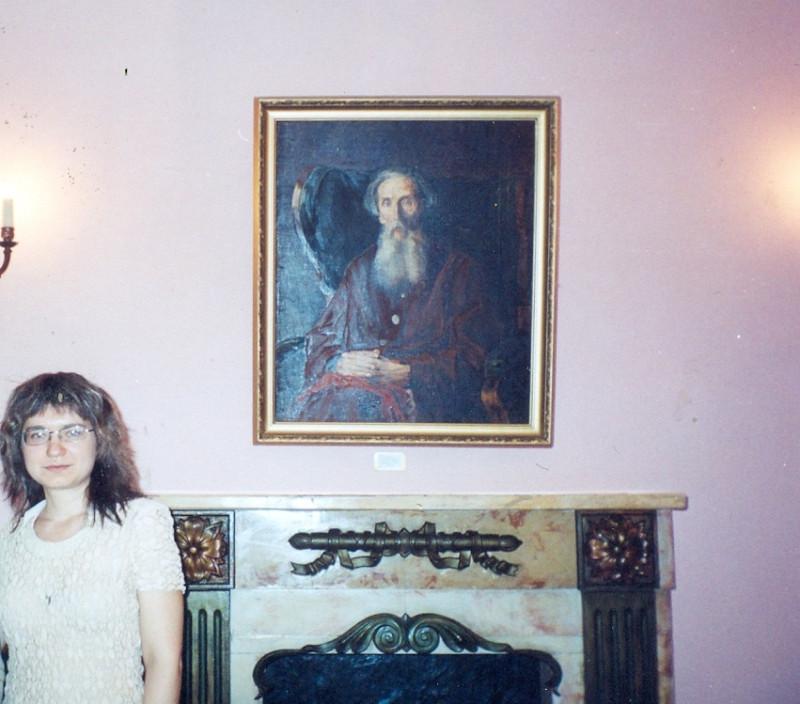 в экспозиции музея Даля. 2010