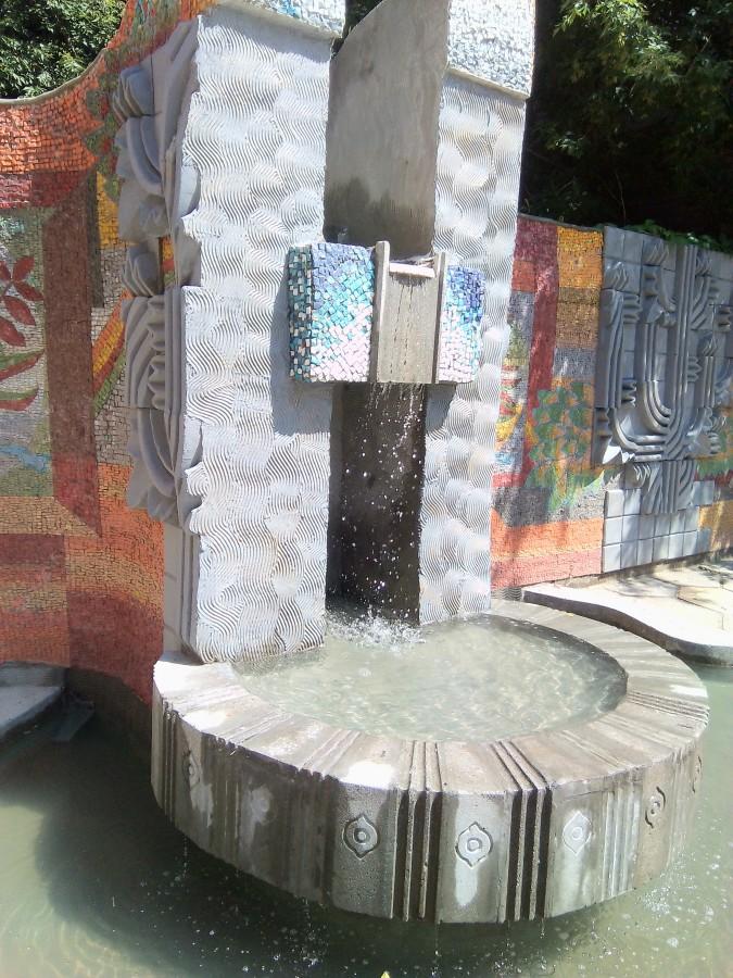 фонтан художников. Фото 2018
