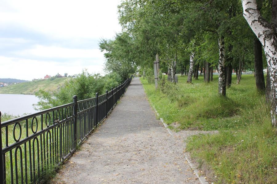 Набережная вдоль реки Миасс1 (1)