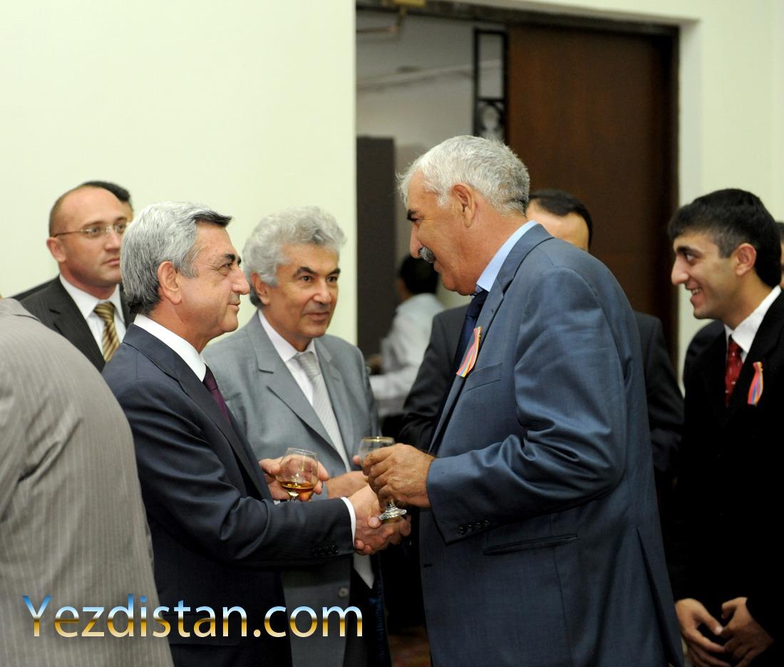 Azize Amar u Prezidente Armanstane
