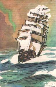 станюкович в море