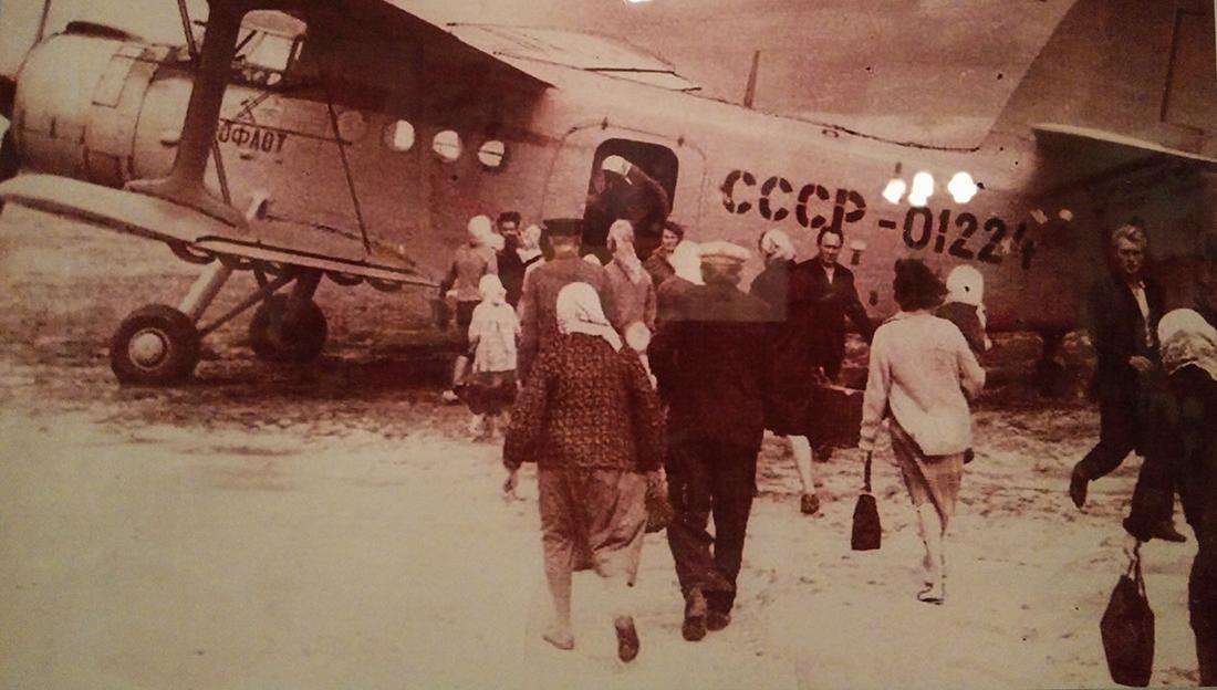 Шарьинский аэропорт. История в фотографиях