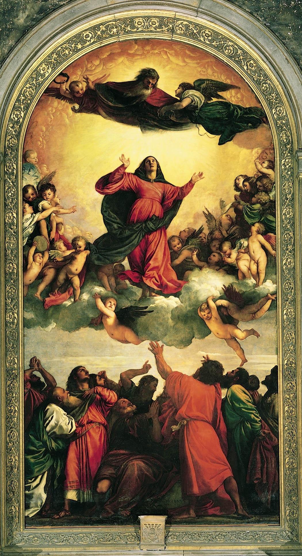 021-Вознесение Богородицы (Тициан)