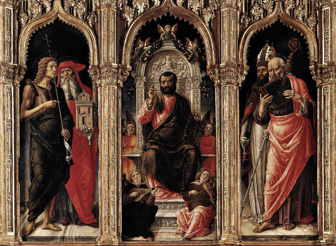 019-Св.Марк на троне (Бартоломео Виварини)