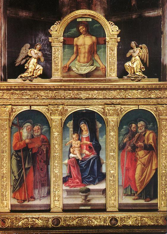 017-Мадонна со святыми (Беллини)