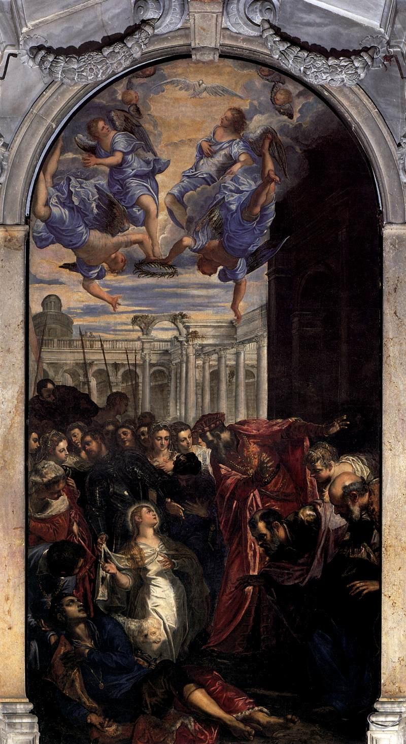 043-Чудо св.Агнессы (Тинторетто)