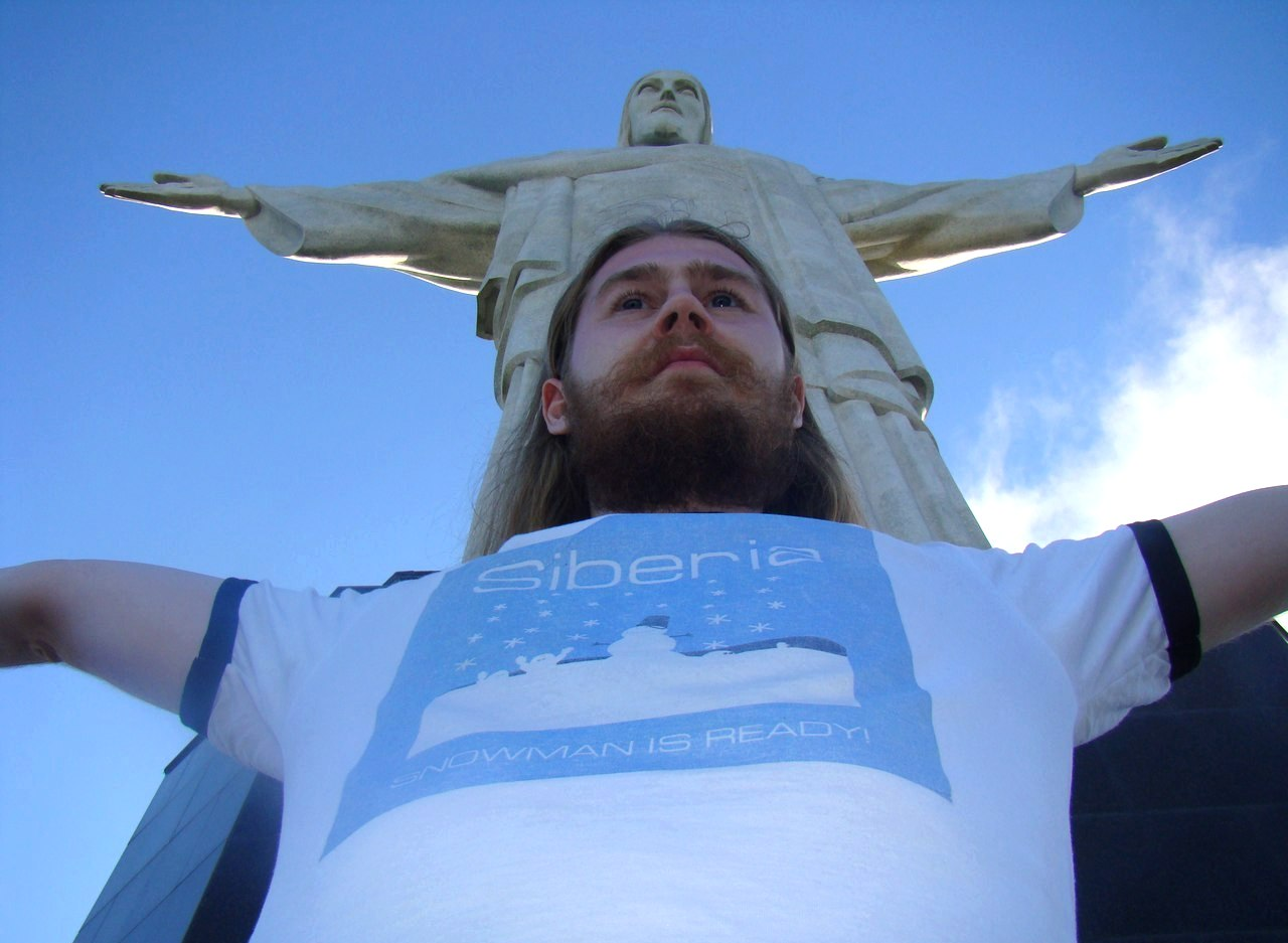 Siberian brand t-shirt in Brazil