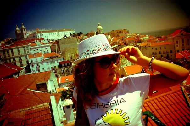Siberian brand t-shirt in Spain