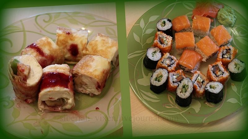 Мои роллы с мастер-класса от повара Суши-Ямы