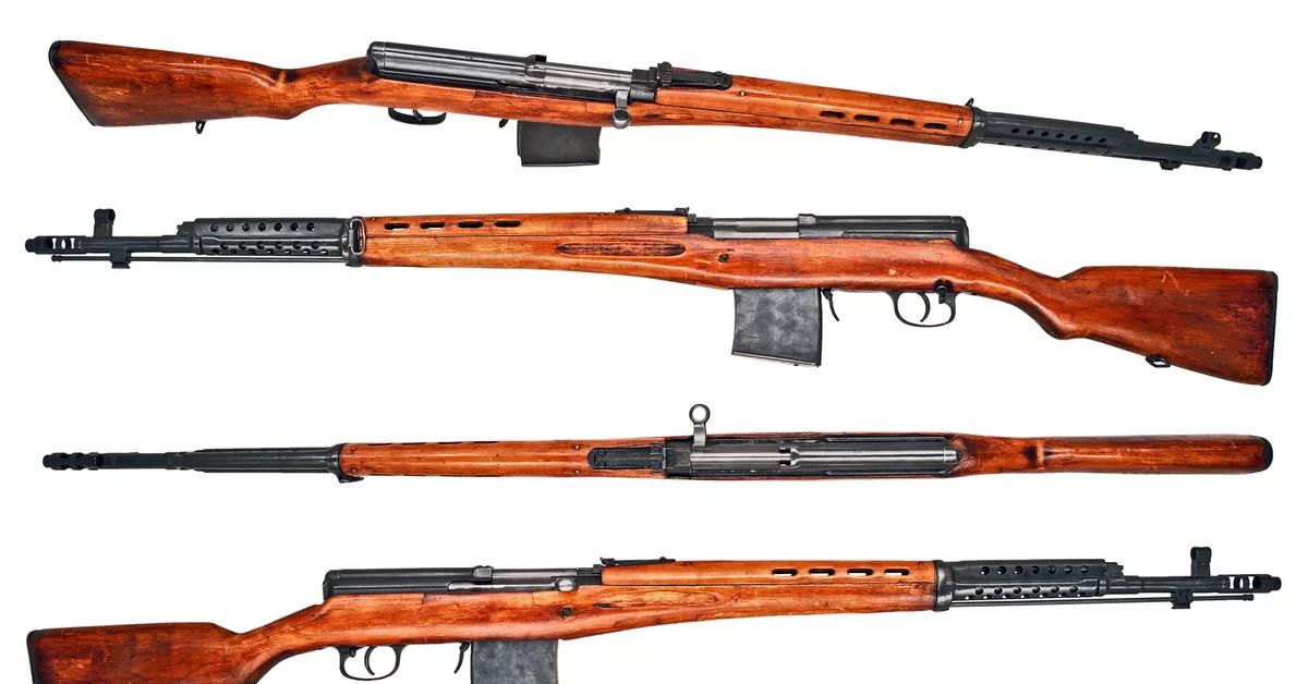СВТ - самозарядная винтовка Токарева.