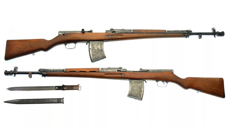АВС - автоматическая винтовка Симонова.