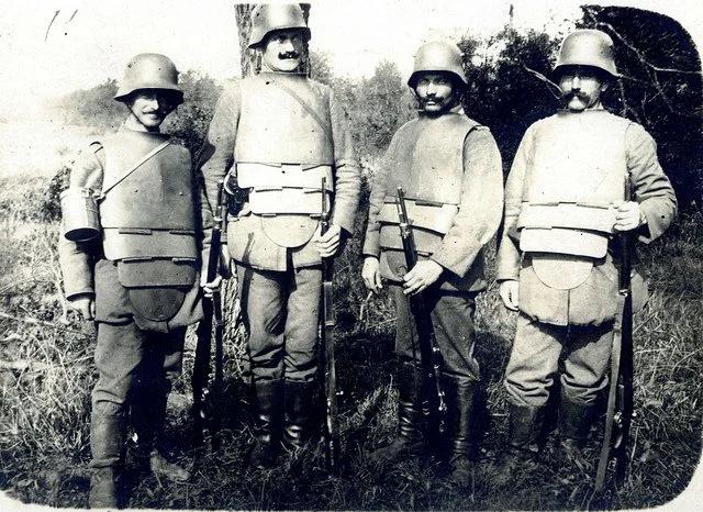 Тевтонские штурмовики.