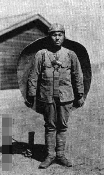 Японский стрелковый щит. 1940 год.