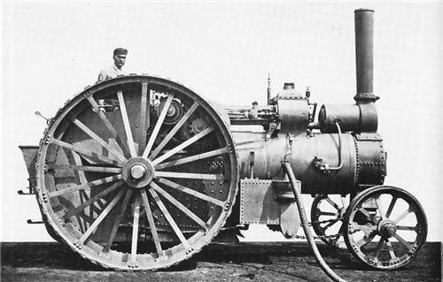 Паровой тягач общего назначения, британской фирмы Фаулер. 1881 год.