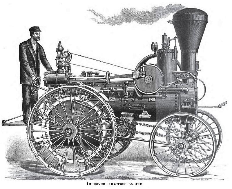 1882 Gaar, Scott & Co., Steam Traction Engine