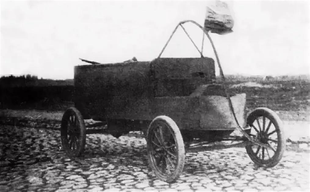 Бронеавтомобиль системы Порховщикова.