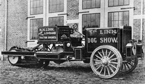 1909г, машина компании Linn. СаСШ.