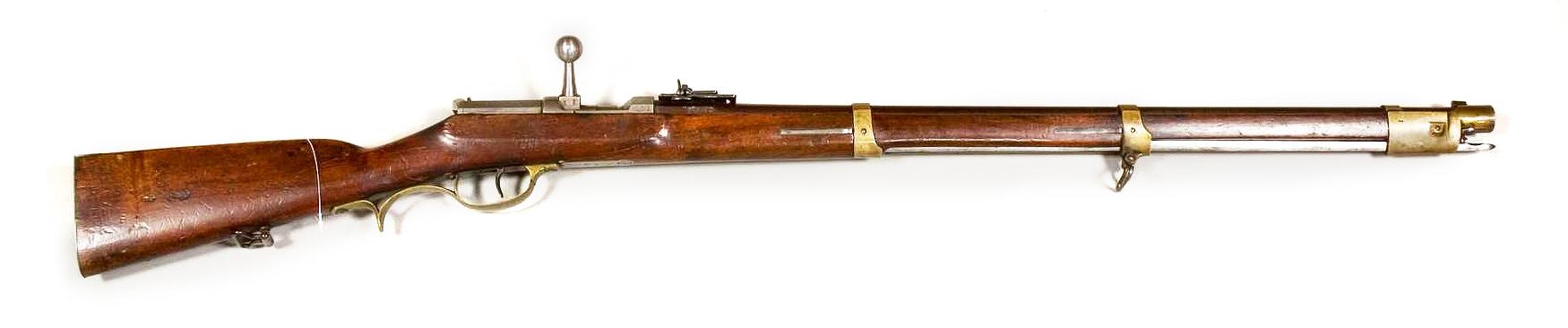Игольчатая винтовка Дрейзе, обр 1841 года.