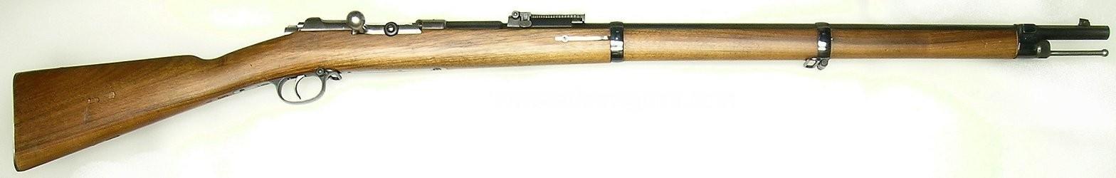 Маузер М1878/80. Магазинная винтовка для Сербии.