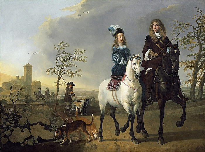 93031824_Aelbert_Cuyp__Lady_and_Gentleman_on_Horseback