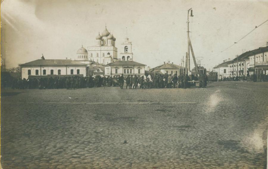 Псков 1918