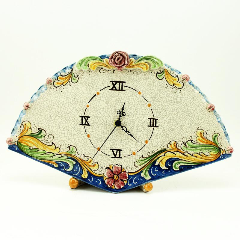 orologio-ceramica-caltagirone