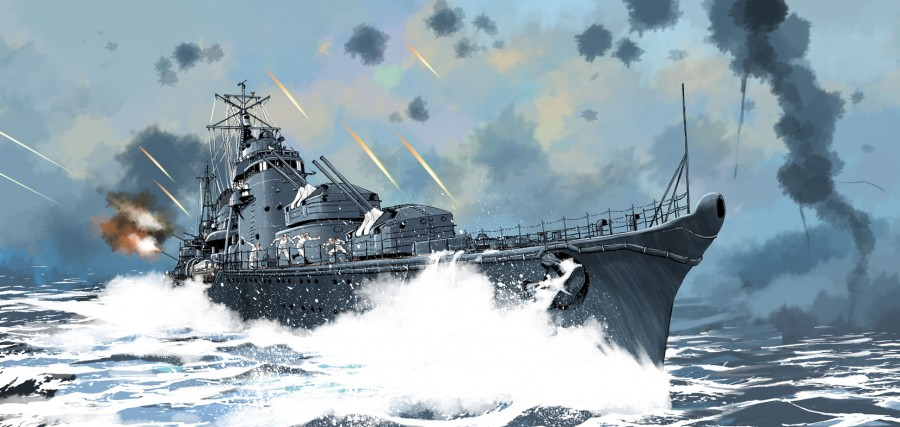 駆逐艦秋月2
